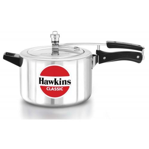 Hawkins (CL50) 5 Liters Classic Aluminum Pressure Cooker