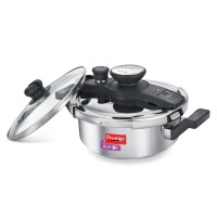 Prestige 3 Liter Clip-On Stainless Steel Pressure Cooker