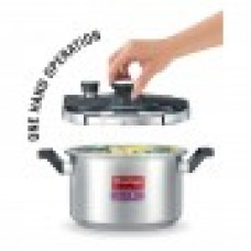 Prestige 5 Liter Clip-On Stainless Steel Pressure Cooker