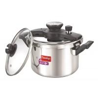 Prestige 6 Liter Clip-On Stainless Steel Pressure Cooker