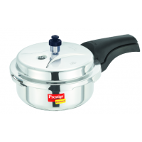 Prestige 2 Liters Stainless Steel Deluxe Pressure Cooker