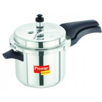 Prestige 3.5 Liters Stainless Steel Deluxe Pressure Cooker