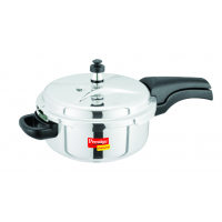 Prestige 3 Liters Stainless Steel Deluxe Pressure Cooker