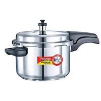 Prestige 4 Liters Stainless Steel Deluxe Pressure Cooker