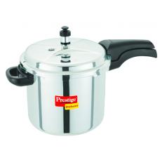 Prestige 5.5 Liter Stainless Steel Deluxe Pressure Cooker