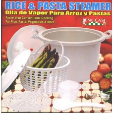 Microwave Rice & Pasta Steamer/Cooker