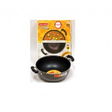 Manttra 25cm Omega Select Deep Fry Pan Kadai with Steel Lid 30729