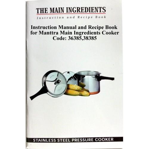 Manttra Instruction & Recipe Book Main Ingredient