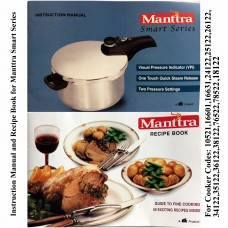 Manttra Instruction & Recipe Book Smart Series