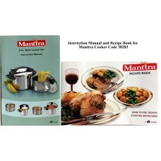 Manttra Instruction & Recipe Book 38283