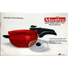 Manttra Instruction & Recipe Book Chef s Pan