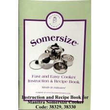 Manttra Instruction & Recipe Book Somersize